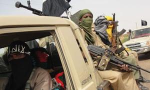 Ansar Dine Islamists in Mali