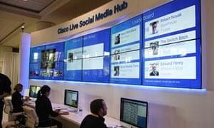 Salesforce: Cisco social media hub