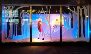 Salesforce: CHRISTMAS SHOP WINDOW DISPLAY