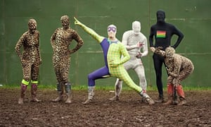 Salesforce: Gregor Lawson, Ali and Fraser Smeaton inventors of the Morphsuit