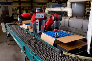 Kyocera | Technologies: Robot 'Baxter' designed to work  on factory production lines
