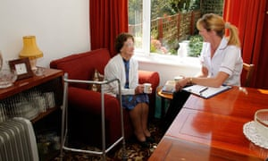 Pensioner and health visitor