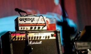 Salesforce: guitar amplifiers at London's Village Underground