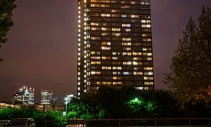 Isle of dogs towerblock