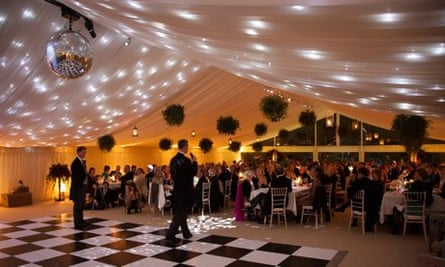 Modern marquees can be used  in all weathers, making a traditionally seasonal business less vulnerab
