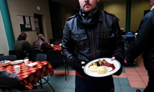 A soup kitchen run by the Capuchin Friary in Dublin