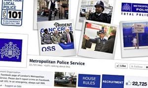 Salesforce: Police facebook