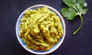 Georgian coriander and walnut sauce