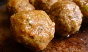 Vietnamese-style pork meatballs