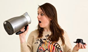 Erica Buist with a thermos kettle