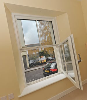 Triple glazed windows in Princedale Road, Holland Park eco home in west London
