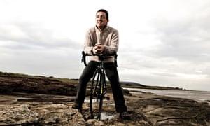 VE Cycling: Chris Boardman near his home in merseyside