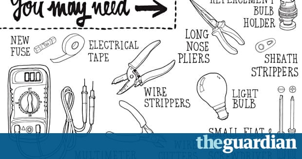how to mend a faulty table lamp life and style the guardian