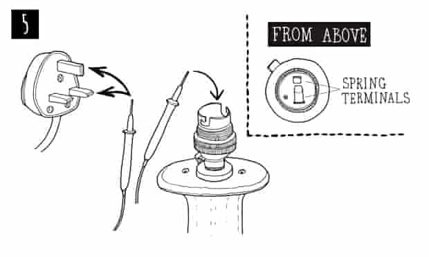 Live Better: How to fix a table lamp