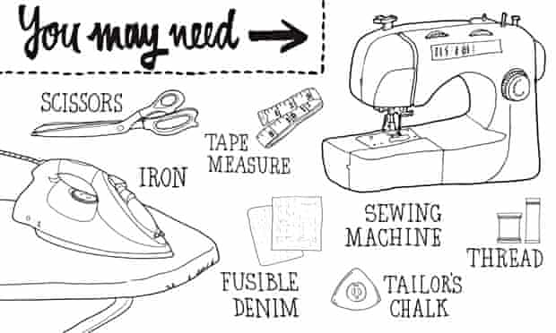 Live Better: How to mend a pair of jeans