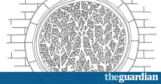 Gothic buildings a spotters guide art and design the for Rose window design
