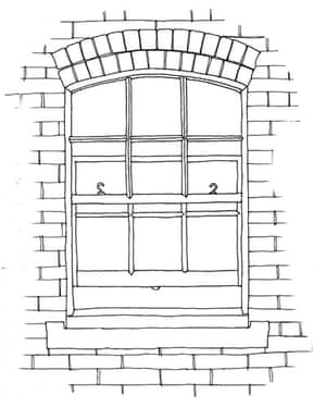British architecture two: Sash window