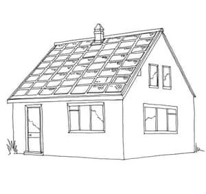 British architecture two: Solar panels