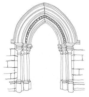 British Architecture One Pointed Arch
