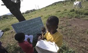 South Africa school slate