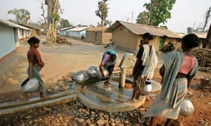 water well in India