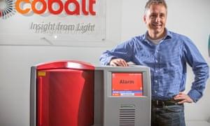 Paul Loeffen CEO of Cobalt Light Systems laser technology