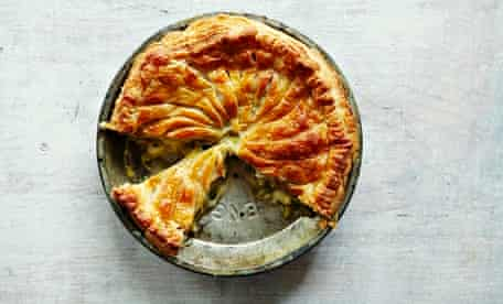10 best leeks recipes: Leek, taleggio and thyme pie