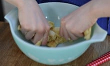 Back to basics: kneading pancake dough