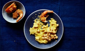 10 best: Tiger prawns with pork scratchings and thyme‑braised chickpeas
