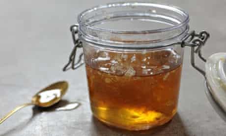 Ruby: Honey Fig Sandwich Cake . A juar of…. well, honey