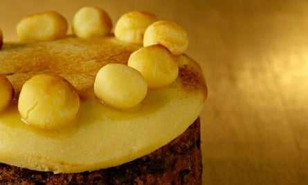 Just as Tasty: Traditional Easter simnel cake.