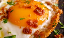 RRS: Eggs fried with herbs and breadcrumbs