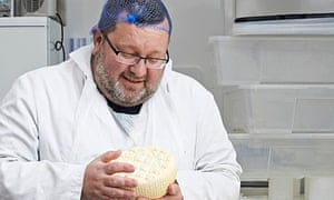 Behind the Scenes:Philip Wilton Of Wildes Cheese at Tottenham Dairy, London.