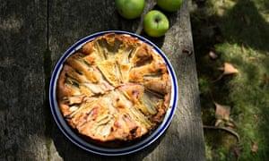 Get togethers: a rhubarb, almond and polenta cake