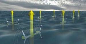 Wave turbines