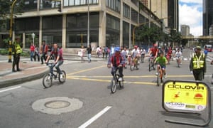 Ciclovia: easy riding on a Sunday in Bogota