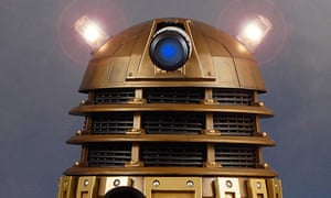 Doctor Who gold Dalek