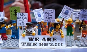 Occupy lego characters