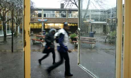 Oustanding schools in deprived areas: Pupils at Hurlingham and Chelsea school in Fulham