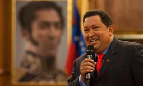Hugo Chávez press conference