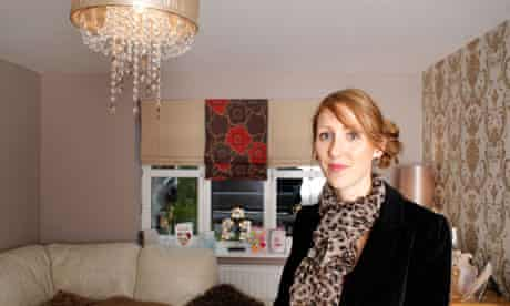Sarah Althorpe at her house in Corby