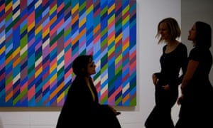 Bridget Riley's work at Liverpool's Walker gallery