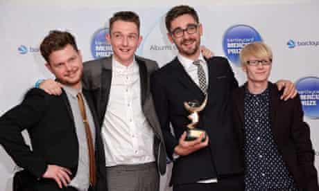 Alt-J win the Mercury prize