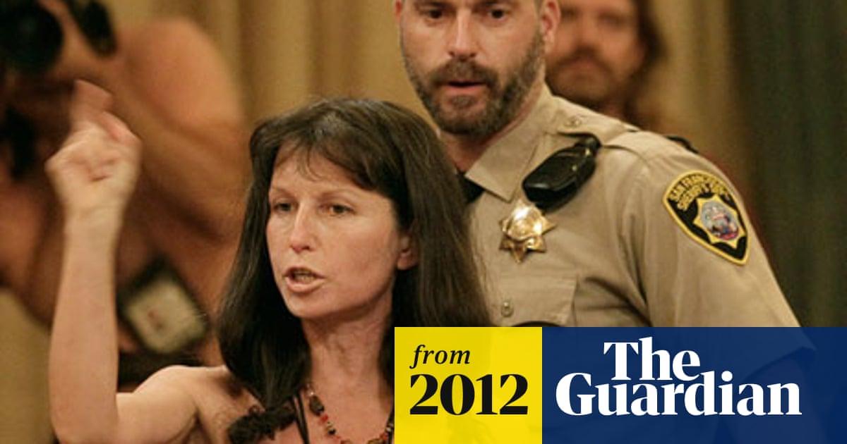 Dany Devero at nudity ban vote at San Francisco Board of S