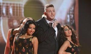 James Arthur at The X Factor final