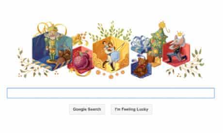 The Nutcracker Google doodle