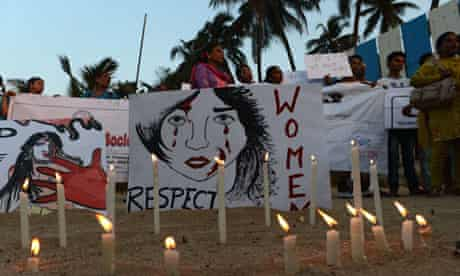 Protest in India over women's safety
