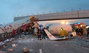 Moscow plane crash