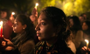 Vigil for Indian victim of gang rape
