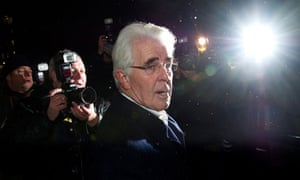 Max Clifford leaves London police station